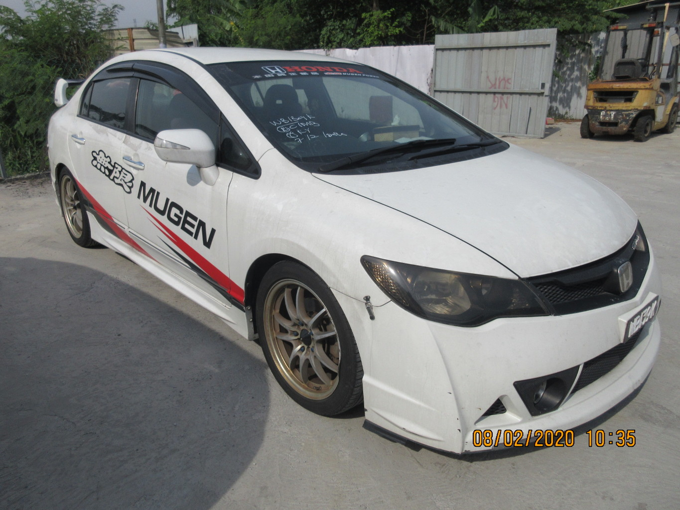 HONDA CIVIC 2.0