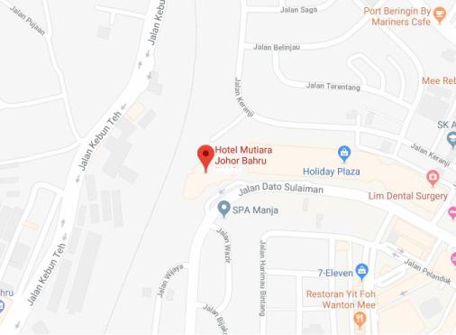Johor Office Map